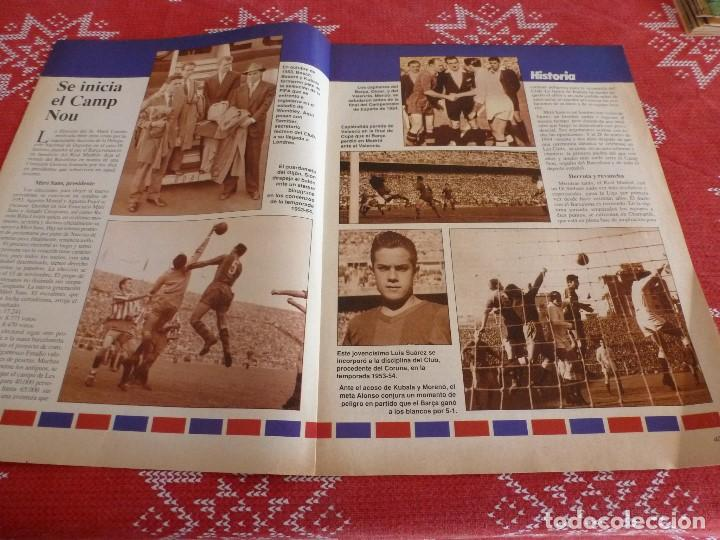 Coleccionismo deportivo: HISTORIA VIVA F.C.BARCELONA-Nº: 26-BAKERO.LOS CAMPS DEL BARÇA,EULOGIO MARTINEZ,LINEKER - Foto 2 - 205350753
