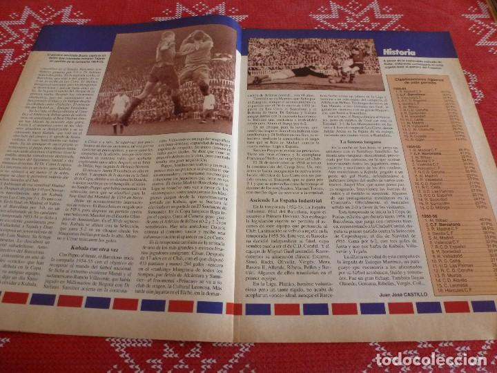 Coleccionismo deportivo: HISTORIA VIVA F.C.BARCELONA-Nº: 26-BAKERO.LOS CAMPS DEL BARÇA,EULOGIO MARTINEZ,LINEKER - Foto 3 - 205350753