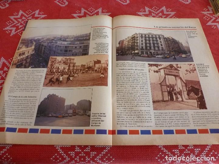 Coleccionismo deportivo: HISTORIA VIVA F.C.BARCELONA-Nº: 26-BAKERO.LOS CAMPS DEL BARÇA,EULOGIO MARTINEZ,LINEKER - Foto 5 - 205350753