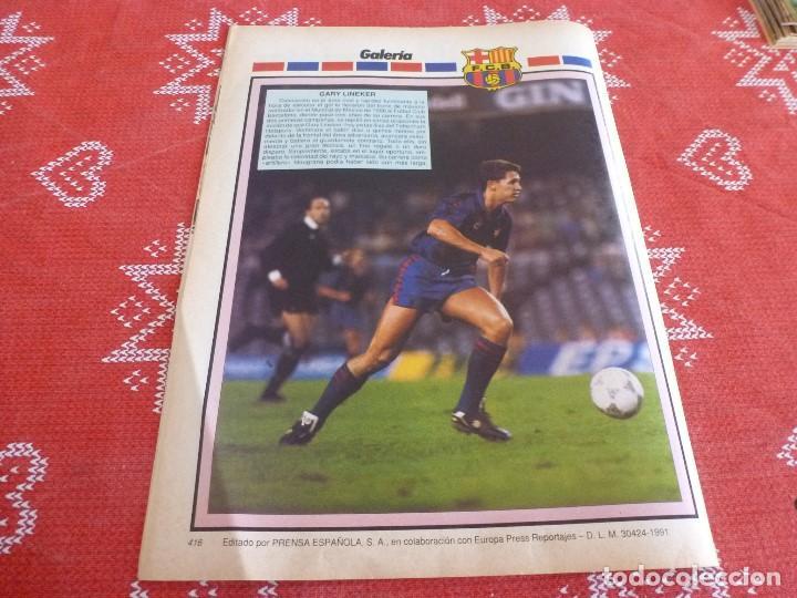 Coleccionismo deportivo: HISTORIA VIVA F.C.BARCELONA-Nº: 26-BAKERO.LOS CAMPS DEL BARÇA,EULOGIO MARTINEZ,LINEKER - Foto 7 - 205350753
