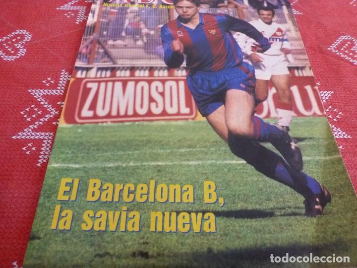 HISTORIA VIVA F.C.BARCELONA-Nº: 27-EL BARÇA B,BARÇA CAMPEON LIGA,PEREDA,MIGUELI,GONZALVO III (Coleccionismo Deportivo - Revistas y Periódicos - otros Fútbol)