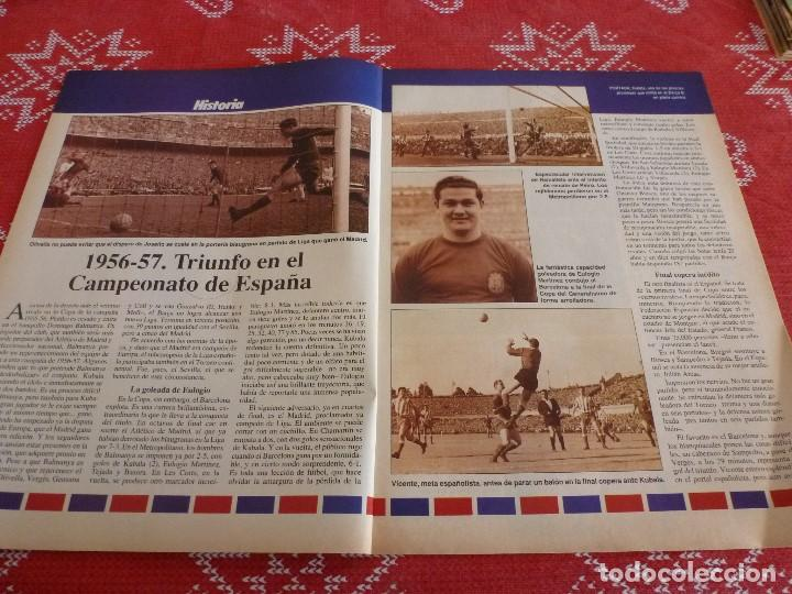 Coleccionismo deportivo: HISTORIA VIVA F.C.BARCELONA-Nº: 27-EL BARÇA B,BARÇA CAMPEON LIGA,PEREDA,MIGUELI,GONZALVO III - Foto 2 - 205350891