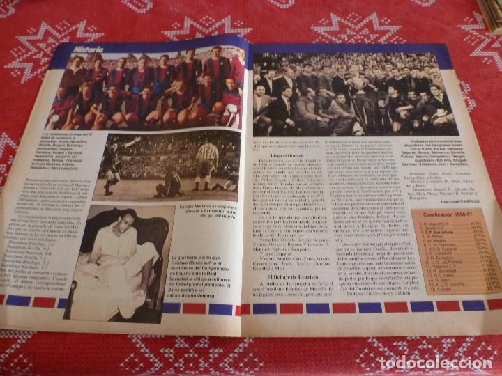 Coleccionismo deportivo: HISTORIA VIVA F.C.BARCELONA-Nº: 27-EL BARÇA B,BARÇA CAMPEON LIGA,PEREDA,MIGUELI,GONZALVO III - Foto 3 - 205350891