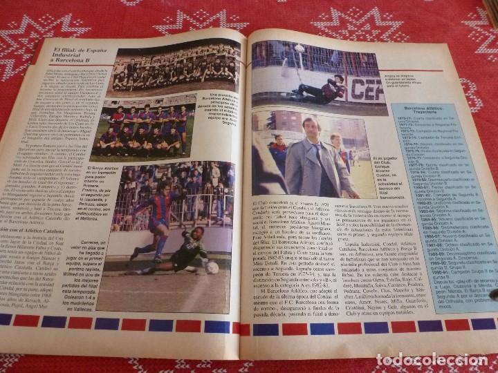 Coleccionismo deportivo: HISTORIA VIVA F.C.BARCELONA-Nº: 27-EL BARÇA B,BARÇA CAMPEON LIGA,PEREDA,MIGUELI,GONZALVO III - Foto 6 - 205350891