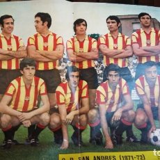 Coleccionismo deportivo: COLECCION AS COLOR ANTIGUA ; COMPLETA CON 557 NUMEROS 1971-1981 - CON POSTERS. Lote 205735481