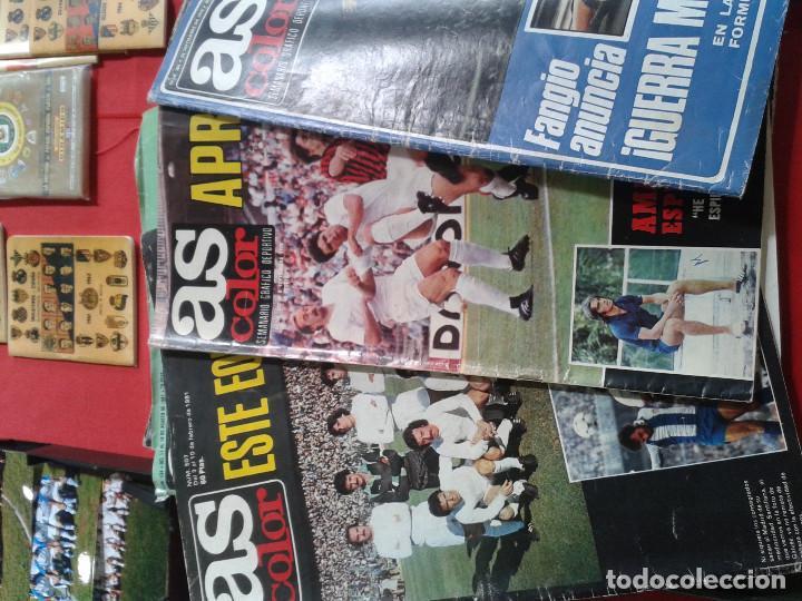 Coleccionismo deportivo: COLECCION AS COLOR ANTIGUA ; COMPLETA CON 557 NUMEROS 1971-1981 - CON POSTERS - Foto 4 - 205735481