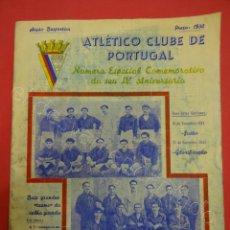 Coleccionismo deportivo: ATLETICO CLUBE DE PORTUGAL. REVISTA COMEMORATIVA. AÑO 1946. FUTEBOL PORTUGUES. Lote 205838952