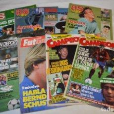 Coleccionismo deportivo: 8 EJEMPLARES / REVISTAS VARIADAS - DON DEPORTE NÚM 1 + PÓSTERS, FUTGOL, AS Y C DEL FUTBOL - LOTE 06. Lote 206156916