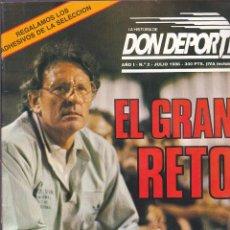 Collezionismo sportivo: REVISTA DON DEPORTE Nº 2. Lote 206239508