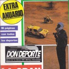 Collezionismo sportivo: REVISTA DON DEPORTE Nº 9. Lote 206239748