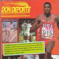 Collezionismo sportivo: REVISTA DON DEPORTE Nº 14-15. Lote 206239837