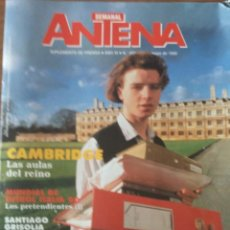 Coleccionismo deportivo: REVISTA ANTENA SEMANAL MAYO 1990. MUNDIAL DE ITALIA. Lote 206281555
