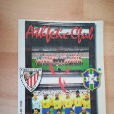 Coleccionismo deportivo: ATHLETIC BILBAO & BRASIL. REVISTA (31/5/1998).. Lote 206364593