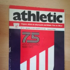 Coleccionismo deportivo: ATHLETIC. REVISTA OFICIAL 75 ANIVERSARIO.. Lote 206459501