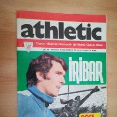 Coleccionismo deportivo: REVISTA OFICIAL ATHLETIC (1974).. Lote 206460258