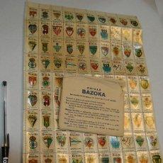 Colecionismo desportivo: FUTBOL CALCOMANIAS DESLIZANTES ** CHICLE BAZOKA ** COLECCION ESCUDOS CLUB DE FUTBOL CON EL SOBRE. Lote 206528442