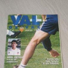 Coleccionismo deportivo: REVISTA DEL VALENCIA C.F. - VAL DE VAC Nº 4 MARZO 1977. Lote 206763326