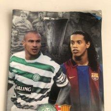 Coleccionismo deportivo: PROGRAMA OFICIAL CELTIC GLASGOW V FC BARCELONA 03-04 OFFICIAL PROGRAMME UEFA 11/03/2004 BARÇA. Lote 206768808