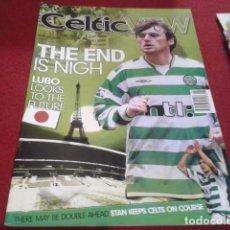 Coleccionismo deportivo: REVISTA CELTIC VIEW FEBRERO 2002 VOL 37 Nº 32 THE VOICE OF THE CHAMPIONS THE END IS NIGH. Lote 206781140