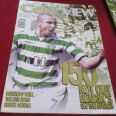 Coleccionismo deportivo: REVISTA CELTIC VIEW FEBRERO 2002 VOL 37 Nº 30 ( 150 NOT OUT HENRIK´S ON THE MARCH ) MARTIN O´NEILL. Lote 206781573