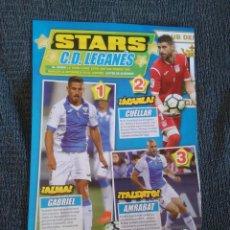 Coleccionismo deportivo: STARS LEGANÉS: CUÉLLAR, GABRIEL Y AMRABAT + GUEDES VALENCIA - REPORTAJE 2 PÁG REVISTA JUGÓN. Lote 207040755