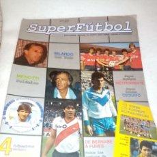 Coleccionismo deportivo: 8 REVISTAS SUPERFÚTBOL EDICIÓN INTERNACIONAL. Lote 207041240
