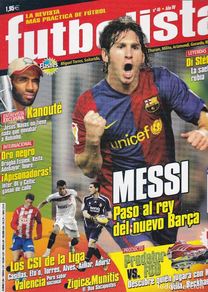 4 REVISTAS FUTBOLISTA Nº 47,48,49 Y 50 (Coleccionismo Deportivo - Revistas y Periódicos - otros Fútbol)