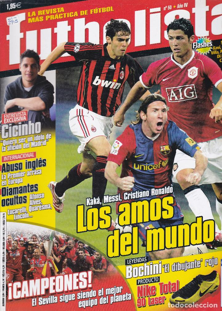 Coleccionismo deportivo: 4 REVISTAS FUTBOLISTA Nº 47,48,49 Y 50 - Foto 2 - 207108733