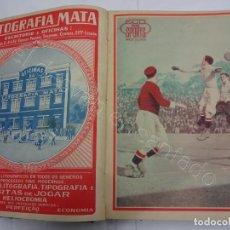 Coleccionismo deportivo: ECO DOS SPORTS. TOMO AÑO I. 2º SEMESTRE. AÑO 1926. FUTBOL-CICLISMO-NATACION..... Lote 207157228
