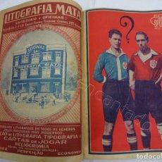 Coleccionismo deportivo: ECO DOS SPORTS. TOMO AÑO I. 1ER SEMESTRE. AÑO 1926. FUTBOL-CICLISMO-NATACION..... Lote 207157321