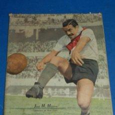 Collectionnisme sportif: (MF) DIARIO EL GRÁFICO N.1468 BUENOS AIRES 1947 - PORTADA JOSÉ M MORENO - RIVER PLATE. Lote 207201163