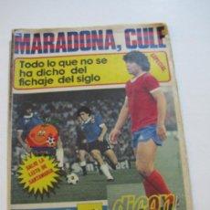 Coleccionismo deportivo: MARADONA CULE-ESPECIAL DICEN-JUNIO 1982-REVISTA DE FUTBOL ESPECIAL FC BARCELONA-VER FOTOS-(V-20.332). Lote 207212958