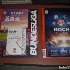 Coleccionismo deportivo: LOTE 2 EXTRA LIGA BUNDESLIGA AUSTRIA 18/19 Y 19/20. Lote 207219938