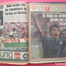 Coleccionismo deportivo: COLECCION COMPLETA MUNDIAL ESPAÑA 82 EL PERIODICO - TOMO 34 SUPLEMENTOS WORLD CUP 1982 WC ITALY. Lote 207220608