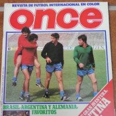Collectionnisme sportif: REVISTA DEPORTIVA ONCE AÑO 1 NUMERO 4 AÑO 1978 - EN CASTELLANO. Lote 207269105