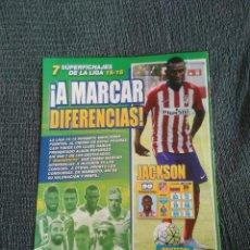 Coleccionismo deportivo: JACKSON ATLÉTICO DE MADRID - TIPO PÓSTER 1 PÁGINA REVISTA JUGÓN DATOS + CRACKS ESPAÑOLES INIESTA.... Lote 207280337