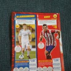 Coleccionismo deportivo: ILLARRAMENDI REAL MADRID Y KOKE ATLÉTICO - TIPO PÓSTER 1 PÁG REVISTA JUGÓN + MORATA MORENO MONTOYA... Lote 207303367