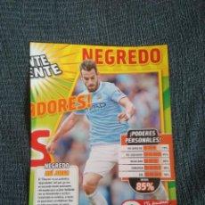 Coleccionismo deportivo: NEGREDO MANCHESTER CITY TIPO POSTER 1 PÁGINA REVISTA JUGÓN CON DATOS + ESPAÑA CASILLAS RAMOS PIQUÉ... Lote 207306381