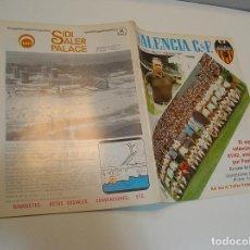 Coleccionismo deportivo: REVISTA FUTBOL VALENCIA C.F. - AÑO 1981 - Nº 51. Lote 208109528