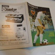 Coleccionismo deportivo: REVISTA DEPORTIVA DEL VALENCIA CLUB DE FÚTBOL Nº32 SEPTIEMBRE DE 1979. Lote 208109651
