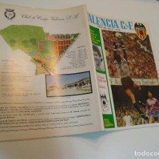 Coleccionismo deportivo: REVISTA VALENCIA C.DE F.Nº .57 MARZO - ,1982 - -POSTER COLOR -RIBES-SALVADOR GOMAR .. Lote 208109893
