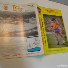 Coleccionismo deportivo: REVISTA FUTBOL VALENCIA C.F. - AÑO 1981 - Nº 44 .. Lote 208109982