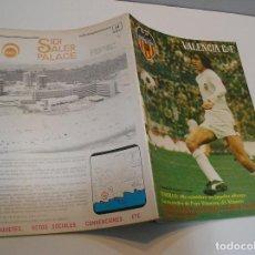 Coleccionismo deportivo: REVISTA DEPORTIVA DEL VALENCIA CLUB DE FÚTBOL Nº 29 JUNIO DE 1979 ¡ ADIÓS A LA UEFA. Lote 208110168