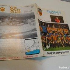 Coleccionismo deportivo: REVISTA FUTBOL VALENCIA CF Nº 41 NOVIEMBRE DE 1980 SUPER CAMPEONES, EUROPA, NOTTINGHAM FOREST ,. Lote 208110236