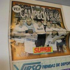 Coleccionismo deportivo: SUPER DEPORTE VALENCIA CAMPEON DE LIGA SABADO 15 MAYO 2002. Lote 208111242