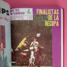Coleccionismo deportivo: REVISTA REAL MADRID AÑO 1971 COMPLETO - TOMO 12 REVISTAS BOLETIN OFICIAL 71. Lote 208140455