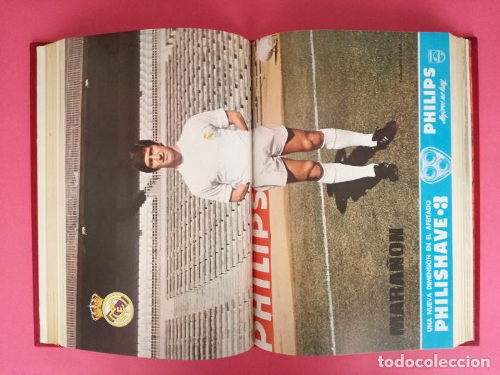 Coleccionismo deportivo: REVISTA REAL MADRID AÑO 1972 COMPLETO - INCLUYE EXTRA 25 AÑOS TOMO 13 REVISTAS BOLETIN OFICIAL 72 - Foto 14 - 208141956