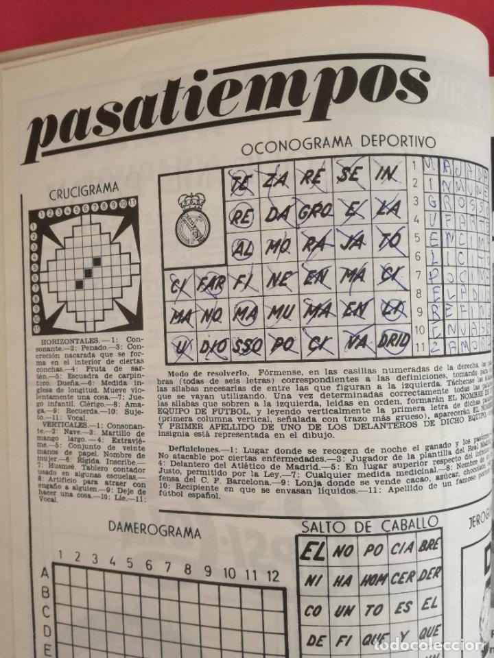 Coleccionismo deportivo: REVISTA REAL MADRID AÑO 1972 COMPLETO - INCLUYE EXTRA 25 AÑOS TOMO 13 REVISTAS BOLETIN OFICIAL 72 - Foto 15 - 208141956