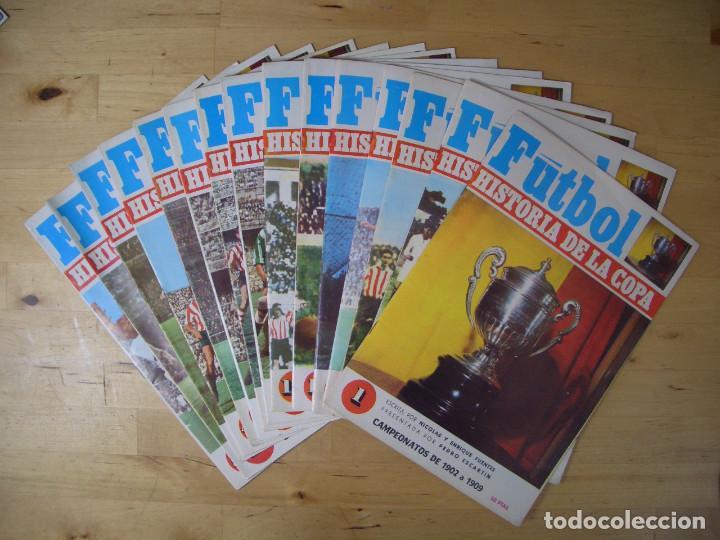 LOTE REVISTA FASCICULO FUTBOL HISTORIA DE LA COPA 16 EJEMPLARES NICOLAS FUENTES 1970 (Coleccionismo Deportivo - Revistas y Periódicos - otros Fútbol)