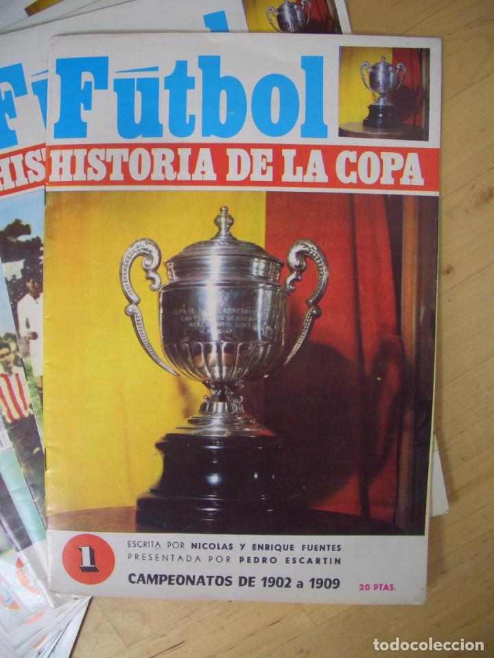 Coleccionismo deportivo: LOTE REVISTA FASCICULO FUTBOL HISTORIA DE LA COPA 16 EJEMPLARES NICOLAS FUENTES 1970 - Foto 2 - 208145878